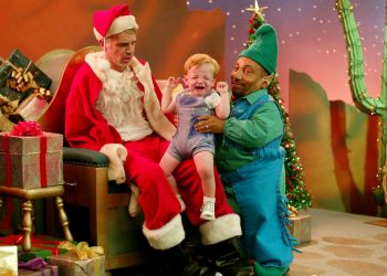 Bad Santa better when high