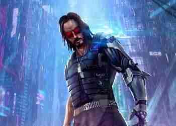 Cyberpunk 2077 Keenu in rain