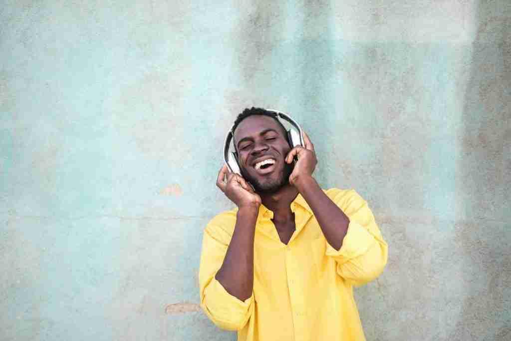 Listening to music-2