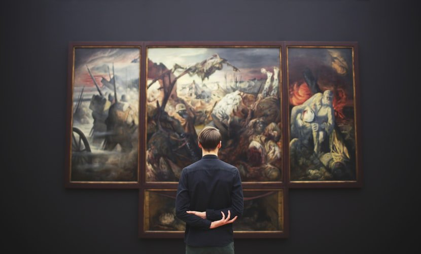 Visit an art gallery, museum, or exhibition