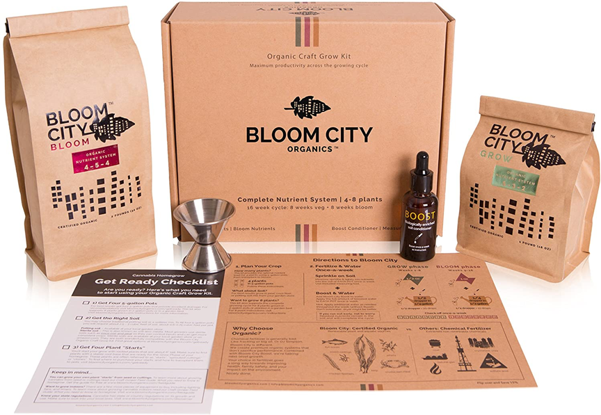 Bloom City Organic Grow Kit