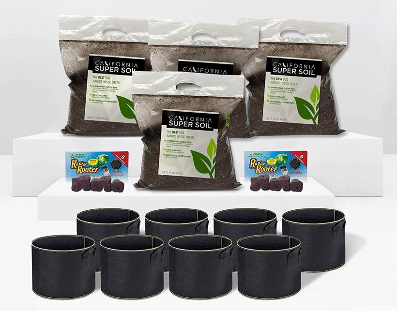California Hot Soil Grow Kit